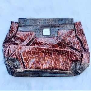 [Miche] NWT Brown Textured Prima Drew Shell Bag